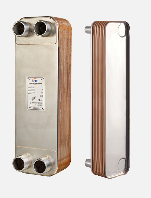 MB - 04 Model Brazed Heat Exchanger
